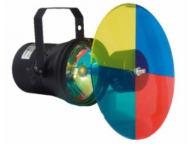 Showtec Pinspot colourwheel PAR 36