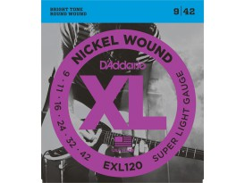 D'Addario EXL super light