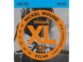 D'Addario EXL custom light LTHB