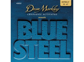 Dean Markley blue steel extra light