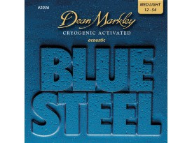 Dean Markley blue steel med. light