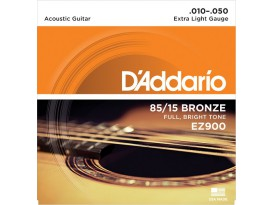 D'Addario bronze 85/15 extra light