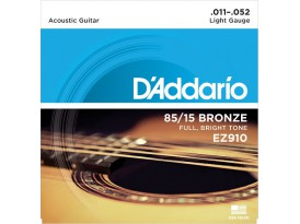 D'Addario bronze 85/15 light
