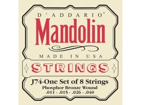 D'Addario mandoline p/bronze medium