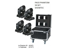 PACK PHANTOM 50 SET SHOWTEC