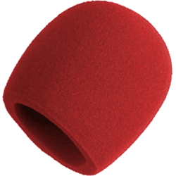 Shure A58WS-RED bonnette Rouge