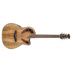 Ovation CE44P-SM Natural Spalted