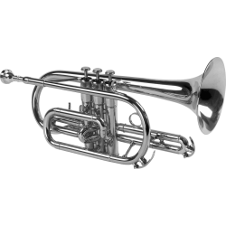 SML Paris cornet Sib CO50-S Silver