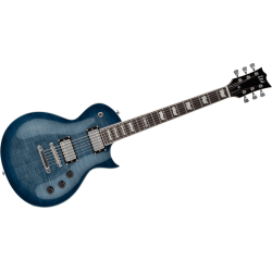 LTD - EC256-CBTBL Bleu Flammé Transparent