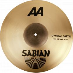 Sabian 2160772 AA crash 16""