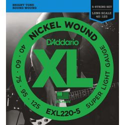D'Addario XL file rond super soft
