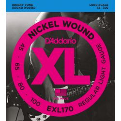 D'Addario XL file rond nickel soft