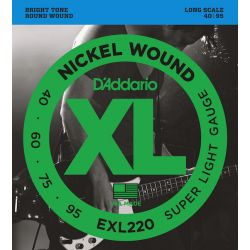 D'Addario XL file rond sup soft