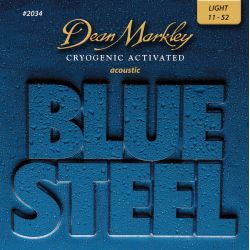 Dean Markley blue steel light
