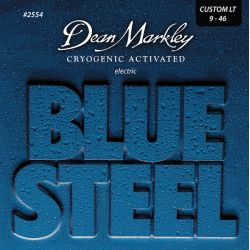 Dean Markley blue steel cust. light