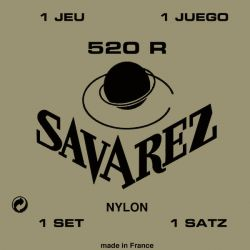 Savarez rouge tirant normal