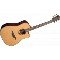 Lag - T100DCE Dreadnought Cutaway Electro - Naturel
