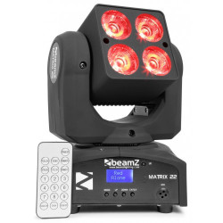 BeamZ Matrix22 Lyre LED