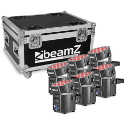 BeamZ BBP60 Set 6 projecteurs led