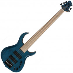 Marcus Miller M2-5 TBL MN Finition Bleu Transparent
