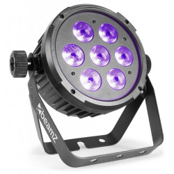 BeamZ BT280 LED Flat Par 7 x 10 W