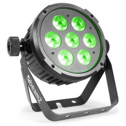 BeamZ BT270 LED Flat Par 7 x 6 W
