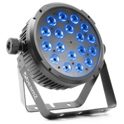 BeamZ BT320 LED Flat Par 18 x 6 W