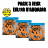 D'Addario EXL nickel light