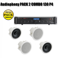 Audiophony PACK 2 COMBO 130 P4