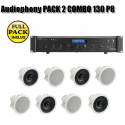 Audiophony PACK 2 COMBO 130 P8