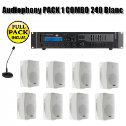 Audiophony PACK 1 COMBO 240 Blanc