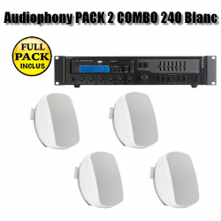 Audiophony PACK 2 COMBO 240 Blanc