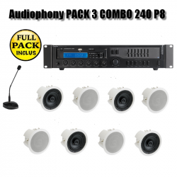 Audiophony PACK 3 COMBO 240 P8