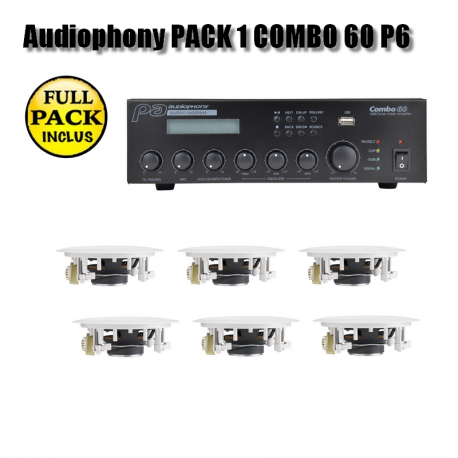 Audiophony PACK 1 COMBO 60 P6
