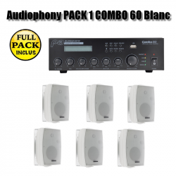 Audiophony PACK 1 COMBO 60 Blanc