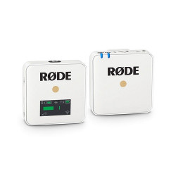 Rode wirelessGo White