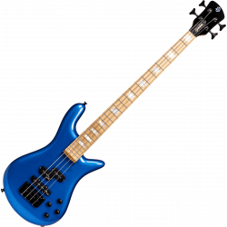 Basse Euro 4 Bolt Metallic Blue