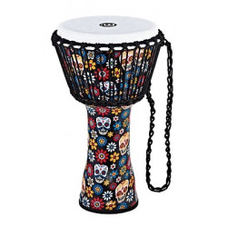 "DJEMBE MEINL SYNTHETIQUE 10"" DAYS OF THE DEAD"