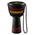 "DJEMBE MEINL EARTH 13"" NOIR ROUGE J"